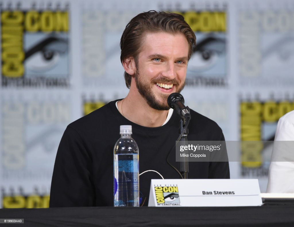 Actor Dan Stevens speaks onstage at the 'Legion' screening and Q+A during Comic-Con International 2017 at San Diego Convention Center on July 20, 2017 in San Diego, California.