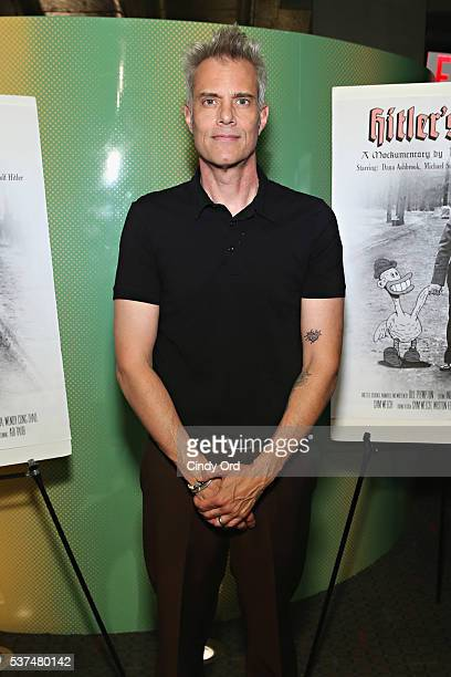 Actor Dana Ashbrook attends the 'Hitler's Folly' New York Premiere at SVA Theatre on June 1 2016 in New York City