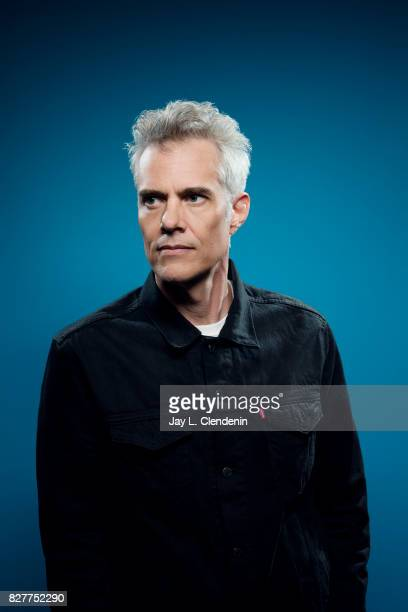 Actor Dana Ashbrook from the television series 'Twin Peaks' is photographed in the LA Times photo studio at ComicCon 2017 in San Diego CA on July 21...