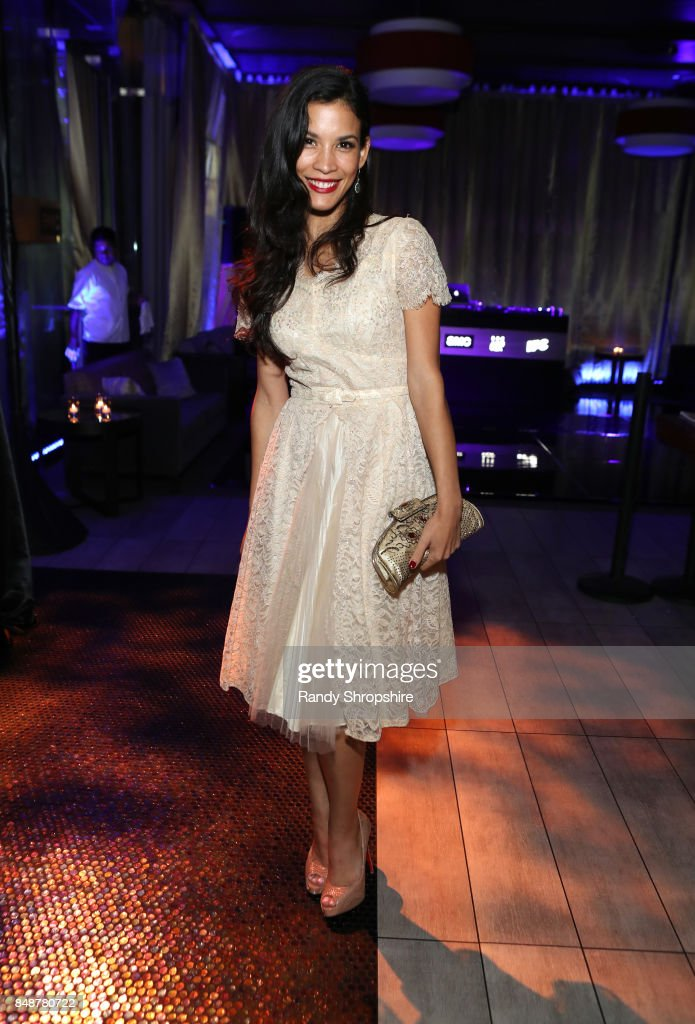 Actor Danay Garcia at AMC, BBCA and IFC Emmy party at BOA Steakhouse on September 17, 2017 in West Hollywood, California.