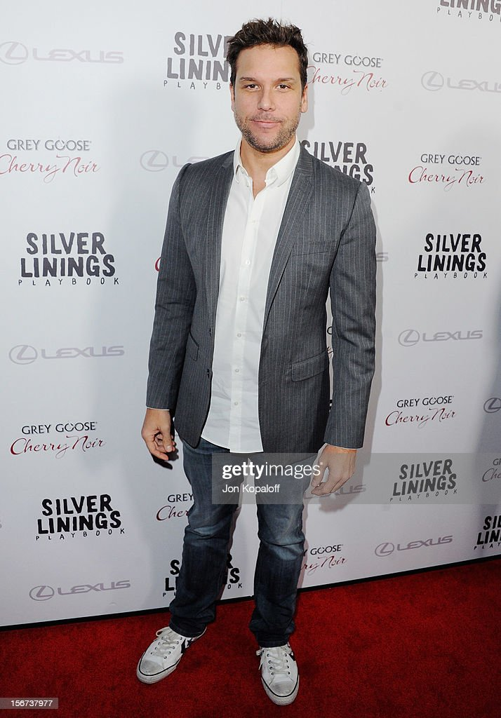 Actor Dane Cook arrives at the Los Angeles Premiere 'Silver Linings Playbook' at the Academy of Motion Picture Arts and Sciences on November 19, 2012 in Beverly Hills, California.