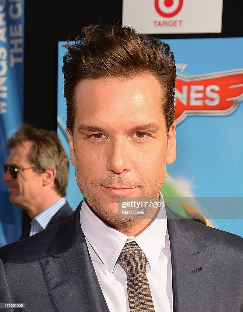Actor <a gi-track='captionPersonalityLinkClicked' href=/galleries/search?phrase=Dane+Cook&family=editorial&specificpeople=224026 ng-click='$event.stopPropagation()'>Dane Cook</a> attends the premiere of Disney's 'Planes' at the El Capitan Theatre on August 5, 2013 in Hollywood, California.