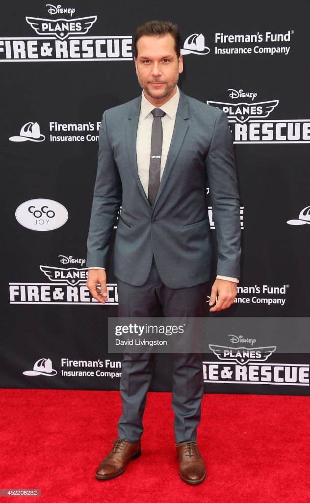 Actor <a gi-track='captionPersonalityLinkClicked' href=/galleries/search?phrase=Dane+Cook&family=editorial&specificpeople=224026 ng-click='$event.stopPropagation()'>Dane Cook</a> attends the premiere of Disney's 'Planes: Fire & Rescue' at the El Capitan Theatre on July 15, 2014 in Hollywood, California.