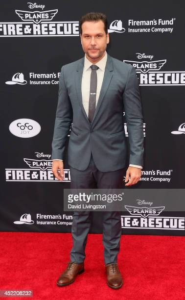 Actor Dane Cook attends the premiere of Disney's 'Planes Fire Rescue' at the El Capitan Theatre on July 15 2014 in Hollywood California