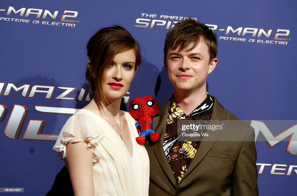 Actor Dane DeHaan and wife Anna Wood attend 'The Amazing Spider-Man 2: Rise Of Electro' Rome Premiere at The Space Moderno Cinema on April 14, 2014 in Rome, Italy.