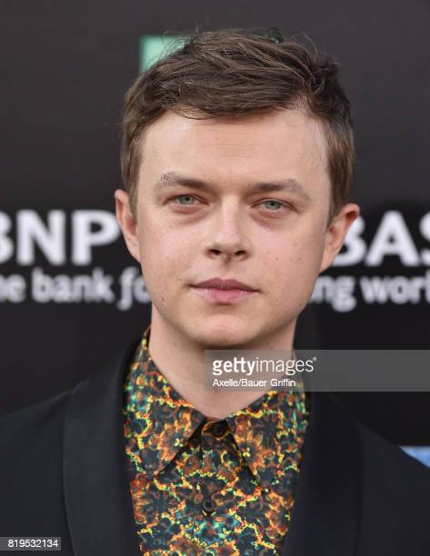 Actor Dane DeHaan arrives at the Los Angeles premiere of 'Valerian and the City of a Thousand Planets' at TCL Chinese Theatre on July 17 2017 in...