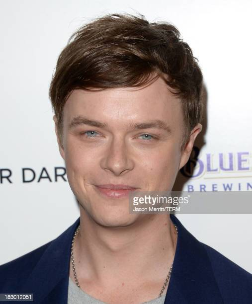 Actor Dane DeHaan arrives at the premiere of Sony Pictures Classics' 'Kill Your Darlings' at Writers Guild Theater on October 3 2013 in Beverly Hills...