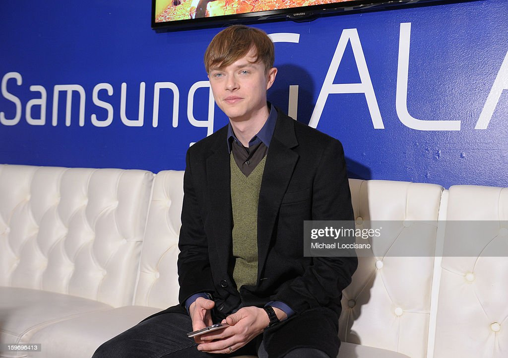 Actor <a gi-track='captionPersonalityLinkClicked' href=/galleries/search?phrase=Dane+DeHaan&family=editorial&specificpeople=6890481 ng-click='$event.stopPropagation()'>Dane DeHaan</a> attends Day 1 of Samsung Galaxy Lounge at Village At The Lift 2013 on January 18, 2013 in Park City, Utah.
