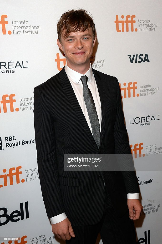 Actor <a gi-track='captionPersonalityLinkClicked' href=/galleries/search?phrase=Dane+DeHaan&family=editorial&specificpeople=6890481 ng-click='$event.stopPropagation()'>Dane DeHaan</a> attends 'The Devil's Knot' premiere during the 2013 Toronto International Film Festival at The Elgin on September 8, 2013 in Toronto, Canada.