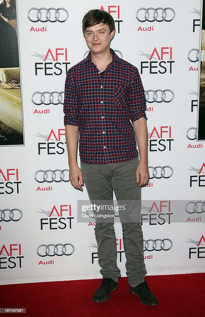 Actor <a gi-track='captionPersonalityLinkClicked' href=/galleries/search?phrase=Dane+DeHaan&family=editorial&specificpeople=6890481 ng-click='$event.stopPropagation()'>Dane DeHaan</a> attends the Los Angeles Times Young Hollywood Roundtable at AFI FEST 2013 presented by Audi at the TCL Chinese Theatre on November 8, 2013 in Hollywood, California.