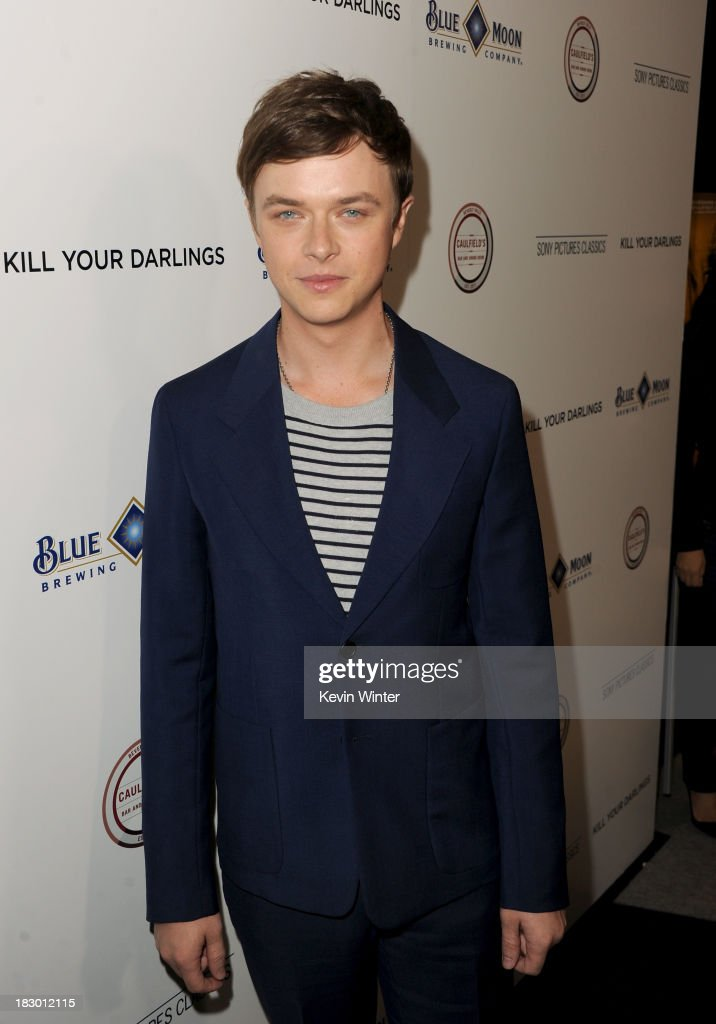 Actor <a gi-track='captionPersonalityLinkClicked' href=/galleries/search?phrase=Dane+DeHaan&family=editorial&specificpeople=6890481 ng-click='$event.stopPropagation()'>Dane DeHaan</a> attends the premiere of Sony Pictures Classics' 'Kill Your Darlings' at Writers Guild Theater on October 3, 2013 in Beverly Hills, California.