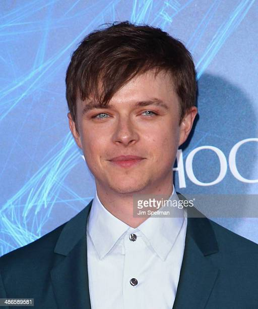 Actor Dane DeHaan attends the 'The Amazing SpiderMan 2' New York Premiere on April 24 2014 in New York City