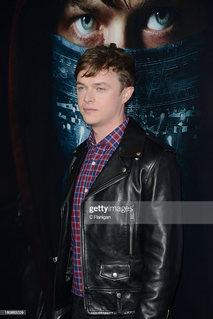 Actor Dane Dehaan attends the U.S. premiere of 'Metallica: Through The Never' at the AMC Metreon on September 16, 2013 in San Francisco, California.