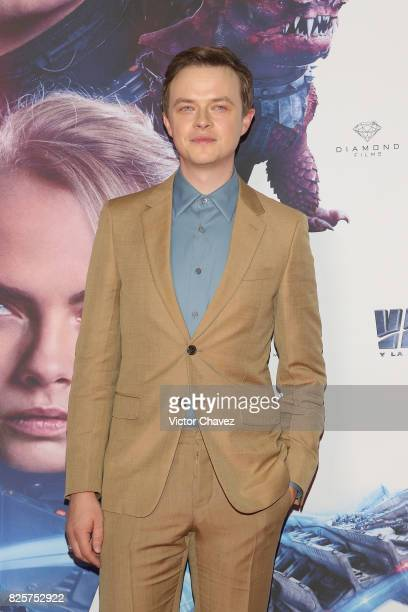 Actor Dane DeHaan attends the 'Valerian And The City Of A Thousand Planets' Mexico City premiere at Parque Toreo on August 2 2017 in Mexico City...