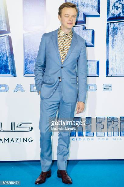 Actor Dane DeHaan attends the 'Valerian' Sao Paulo Premiere at Cinepolis JK on August 3 2017 in Sao Paulo Brazil
