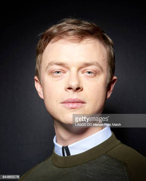 Actor Dane DeHaan is photographed for Paris Match on January 27 2017 in Paris France