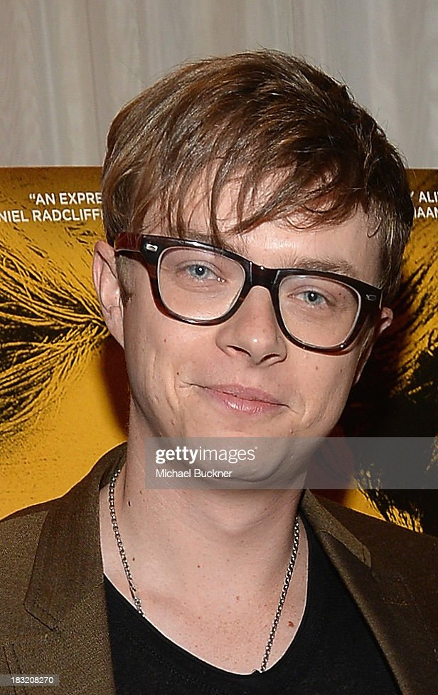 Actor <a gi-track='captionPersonalityLinkClicked' href=/galleries/search?phrase=Dane+DeHaan&family=editorial&specificpeople=6890481 ng-click='$event.stopPropagation()'>Dane DeHaan</a> speaks at the Q&A for the Variety Screening Series Presents Sony Pictures Classics' 'Kill Your Darlings' at ArcLight Hollywood on October 5, 2013 in Hollywood, California.