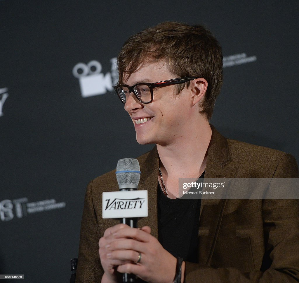 Actor Dane DeHaan speaks at the Q&A for the Variety Screening Series Presents Sony Pictures Classics' 'Kill Your Darlings' at ArcLight Hollywood on October 5, 2013 in Hollywood, California.