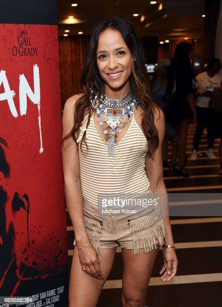 Actor Dania Ramirez celebrates a Toast to Summer with the NEW Limited Edition CIROC Summer Colada at the Hard Rock Hotel Palm Springs on April 14...