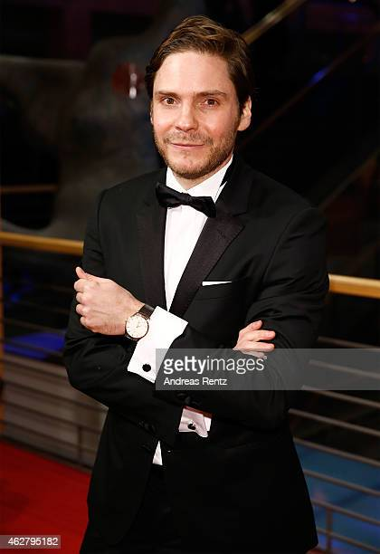 Actor Daniel Bruehl attends the 'Nobody Wants the Night' premiere and Opening Ceremony of the 65th Berlinale International Film Festival at Berlinale...