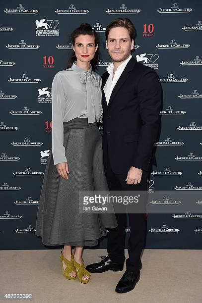 Actor Daniel Bruhl and Felicitas Rombold attend the JaegerLeCoultre gala event celebrating 10 years of partnership with La Mostra Internazionale...