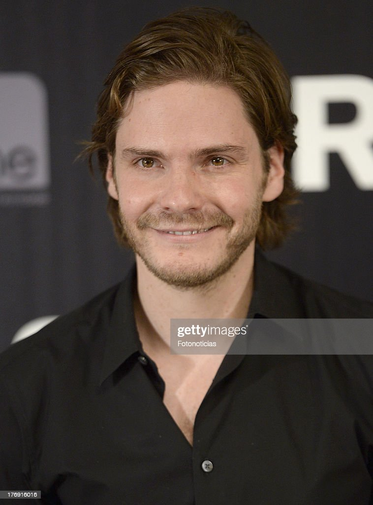 Actor Daniel Bruhl attends a photocall for 'Rush' at Villamagna Hotel on August 19, 2013 in Madrid, Spain.