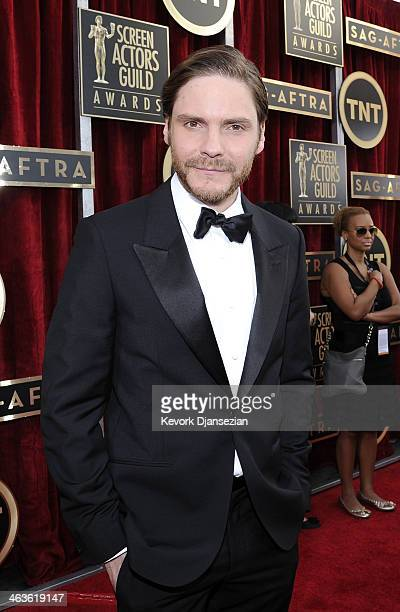 Actor Daniel Bruhl attends the 20th Annual Screen Actors Guild Awards at The Shrine Auditorium on January 18 2014 in Los Angeles California