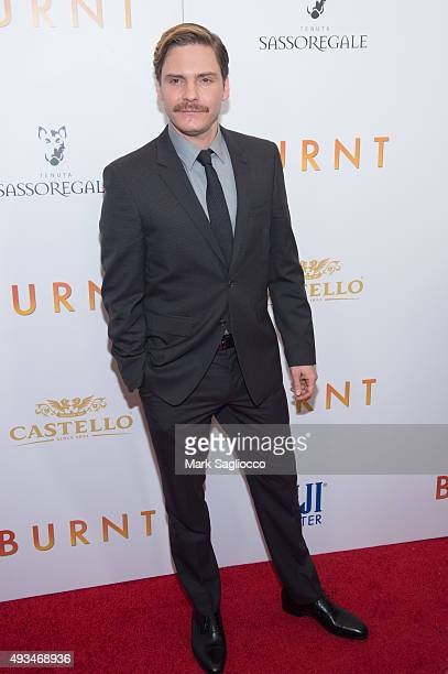 Actor Daniel Bruhl attends the 'Burnt' New York premiere at Museum of Modern Art on October 20 2015 in New York City