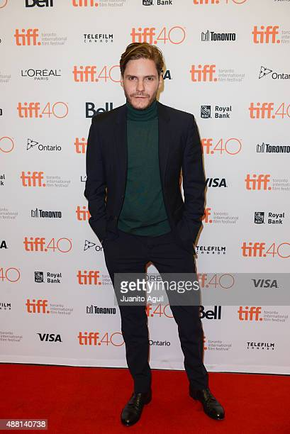 Actor Daniel Bruhl attends the premiere of 'Colonia' during the 2015 Toronto International Film Festival at Princess of Wales Theatre on September 13...