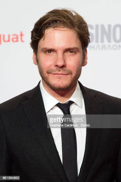 Actor Daniel Brulh attends the Opening Ceremony of the 9th Film Festival Lumiere on October 14 2017 in Lyon France