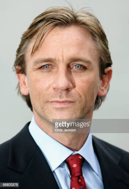 Actor Daniel Craig arrives as he is unveiled as the new actor to play the legendary British secret agent James Bond 007 in the 21st Bond film 'Casino...