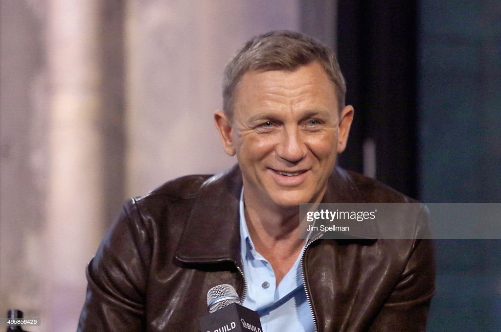 Actor <a gi-track='captionPersonalityLinkClicked' href=/galleries/search?phrase=Daniel+Craig+-+Actor&family=editorial&specificpeople=12323550 ng-click='$event.stopPropagation()'>Daniel Craig</a> attends AOL BUILD Series Presents: 'Spectre' at AOL Studios In New York on November 5, 2015 in New York City.