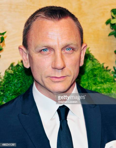 Actor Daniel Craig attends Museum Of Modern Art's 2014 Party In The Garden at Museum of Modern Art on May 13 2014 in New York City