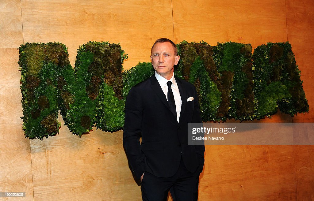 Actor Daniel Craig attends Museum Of Modern Art's 2014 Party In The Garden at Museum of Modern Art on May 13, 2014 in New York City.
