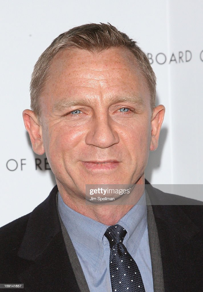 Actor Daniel Craig attends the 2013 National Board Of Review Awards Gala at Cipriani Wall Street on January 8, 2013 in New York City.