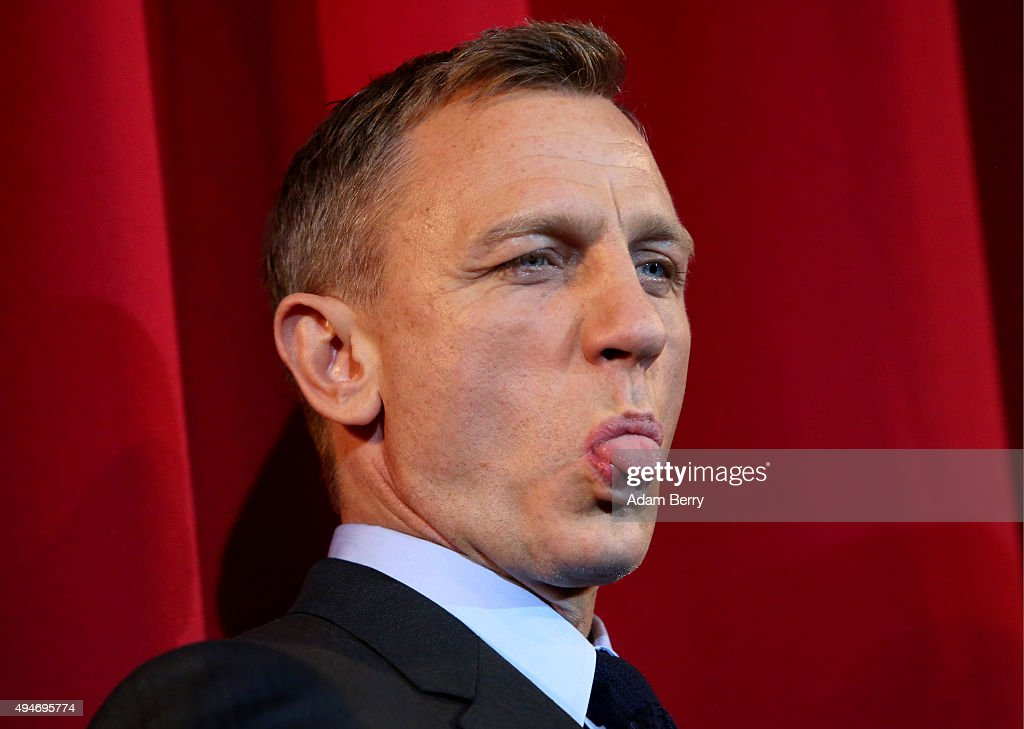 Actor <a gi-track='captionPersonalityLinkClicked' href=/galleries/search?phrase=Daniel+Craig+-+Actor&family=editorial&specificpeople=12323550 ng-click='$event.stopPropagation()'>Daniel Craig</a> attends the German premiere of the new James Bond movie 'Spectre' at CineStar on October 28, 2015 in Berlin, Germany.