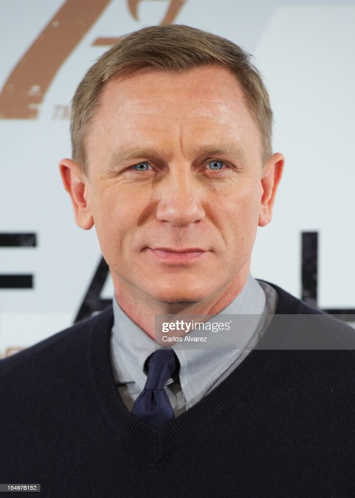 Actor Daniel Craig attends the 'Skyfall' photocall at the Villamagna Hotel on October 29, 2012 in Madrid, Spain.