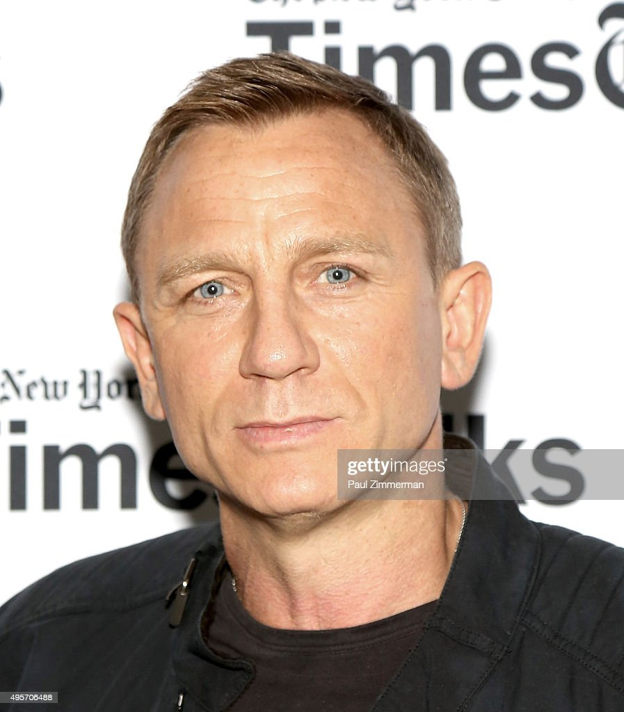 Actor <a gi-track='captionPersonalityLinkClicked' href=/galleries/search?phrase=Daniel+Craig+-+Actor&family=editorial&specificpeople=12323550 ng-click='$event.stopPropagation()'>Daniel Craig</a> attends Times Talks Presents: 'Spectre', An Evening With <a gi-track='captionPersonalityLinkClicked' href=/galleries/search?phrase=Daniel+Craig+-+Actor&family=editorial&specificpeople=12323550 ng-click='$event.stopPropagation()'>Daniel Craig</a> And Sam Mendes at The New School on November 4, 2015 in New York City.