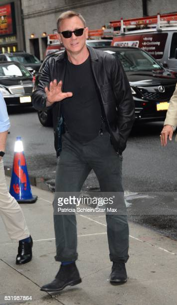 Actor Daniel Craig is seen on August 15 2017 in New York City