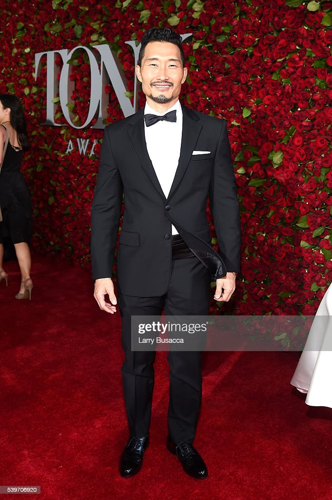 Actor <a gi-track='captionPersonalityLinkClicked' href=/galleries/search?phrase=Daniel+Dae+Kim&family=editorial&specificpeople=581168 ng-click='$event.stopPropagation()'>Daniel Dae Kim</a> attends the 70th Annual Tony Awards at The Beacon Theatre on June 12, 2016 in New York City.