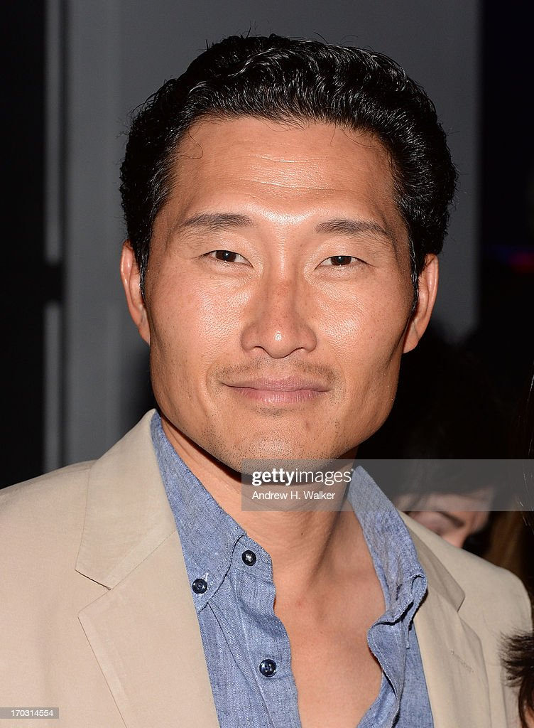 Actor <a gi-track='captionPersonalityLinkClicked' href=/galleries/search?phrase=Daniel+Dae+Kim&family=editorial&specificpeople=581168 ng-click='$event.stopPropagation()'>Daniel Dae Kim</a> attends the 'Man Of Steel' world premiere after party at Skylight at Moynihan Station on June 10, 2013 in New York City.