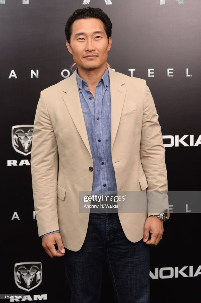 Actor Daniel Dae Kim attends the 'Man Of Steel' world premiere at Alice Tully Hall at Lincoln Center on June 10, 2013 in New York City.