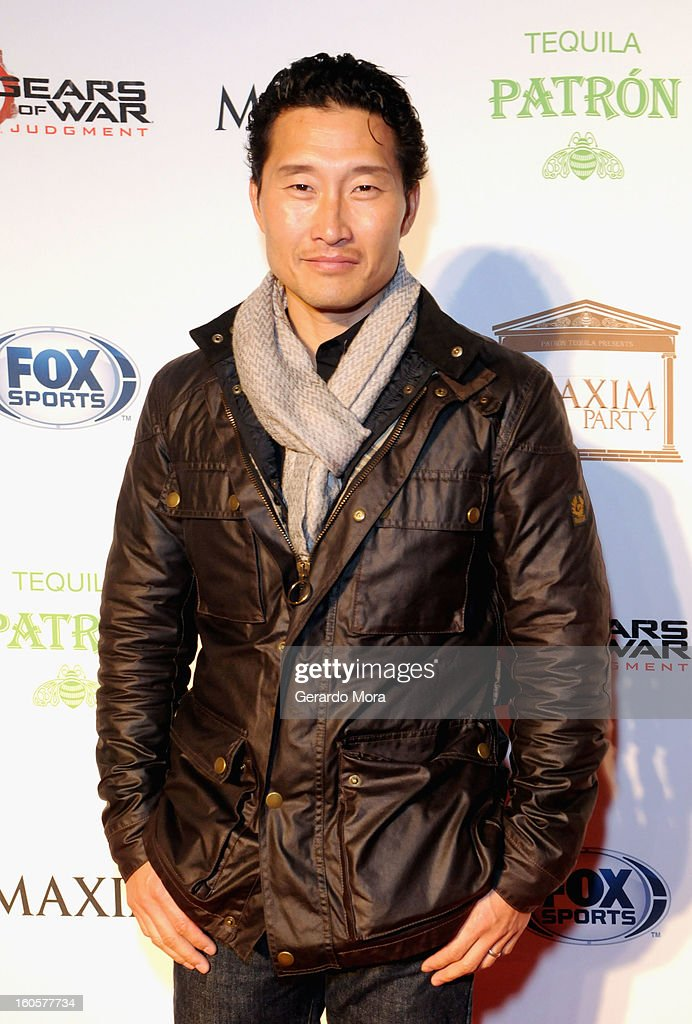 Actor <a gi-track='captionPersonalityLinkClicked' href=/galleries/search?phrase=Daniel+Dae+Kim&family=editorial&specificpeople=581168 ng-click='$event.stopPropagation()'>Daniel Dae Kim</a> attends The Maxim Party With 'Gears of War: Judgment' For XBOX 360, FOX Sports & Starter Presented by Patron Tequila at Second Line Warehouse on February 1, 2013 in New Orleans, Louisiana.