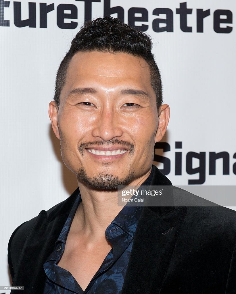 Actor Daniel Dae Kim attends the opening night of 'Daphne's Dive' at Signature Theatre Company's Pershing Square Signature Center on May 15, 2016 in New York Cit