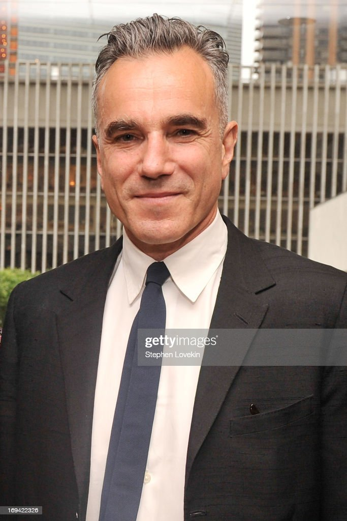 Actor <a gi-track='captionPersonalityLinkClicked' href=/galleries/search?phrase=Daniel+Day-Lewis&family=editorial&specificpeople=211475 ng-click='$event.stopPropagation()'>Daniel Day-Lewis</a> attends Juilliard's 108th Commencement Ceremony at Lincoln Center on May 24, 2013 in New York City.