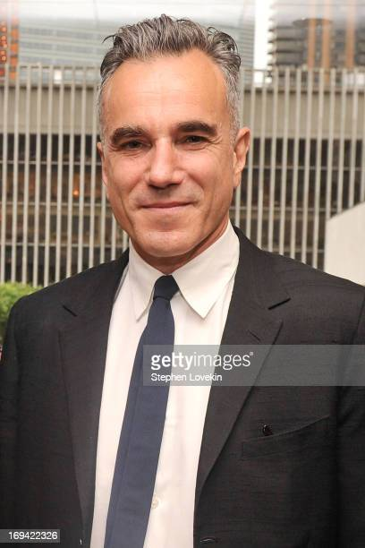 Actor Daniel DayLewis attends Juilliard's 108th Commencement Ceremony at Lincoln Center on May 24 2013 in New York City