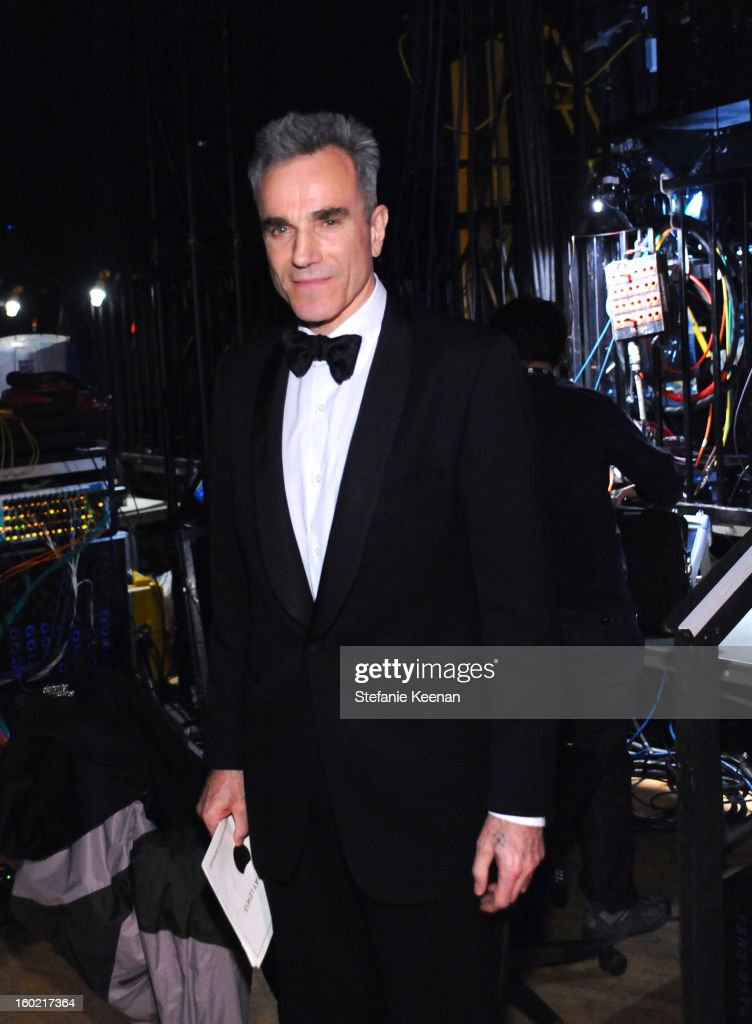Actor Daniel Day-Lewis attends the 19th Annual Screen Actors Guild Awards at The Shrine Auditorium on January 27, 2013 in Los Angeles, California. (Photo by Stefanie Keenan/WireImage) 23116_025_1994.jpg