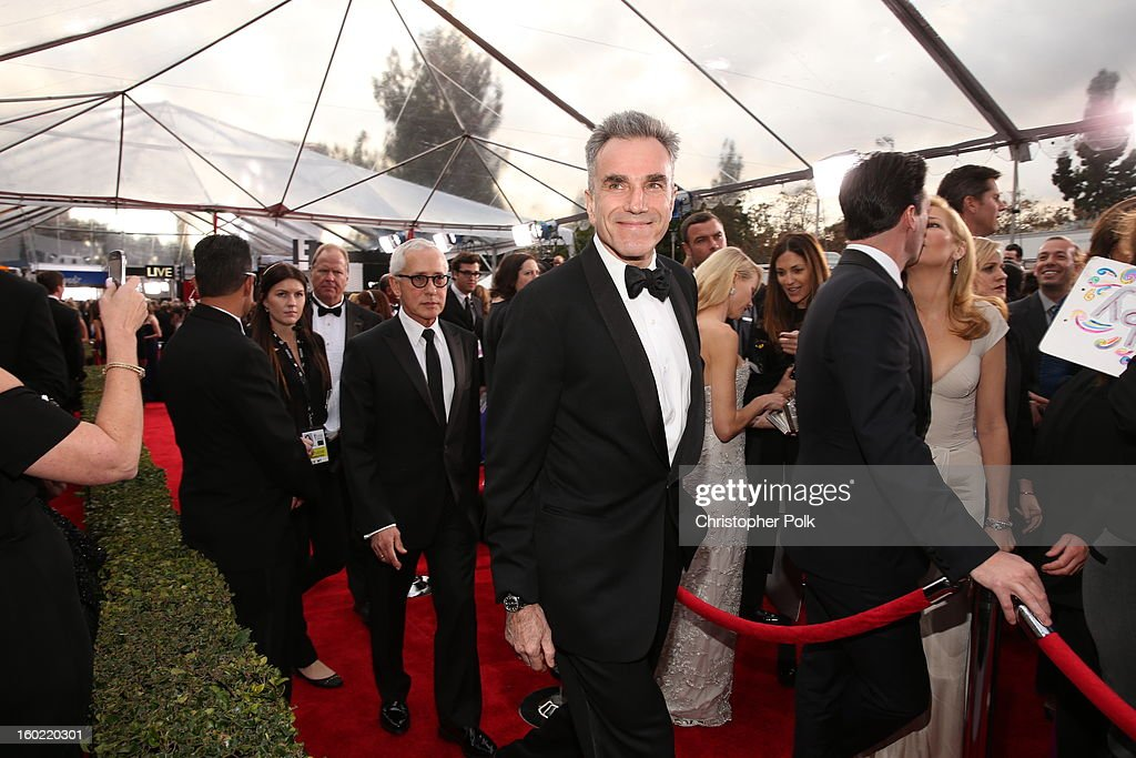 Actor Daniel Day-Lewis attends the 19th Annual Screen Actors Guild Awards at The Shrine Auditorium on January 27, 2013 in Los Angeles, California. (Photo by Christopher Polk/WireImage) 23116_012_0506.JPG