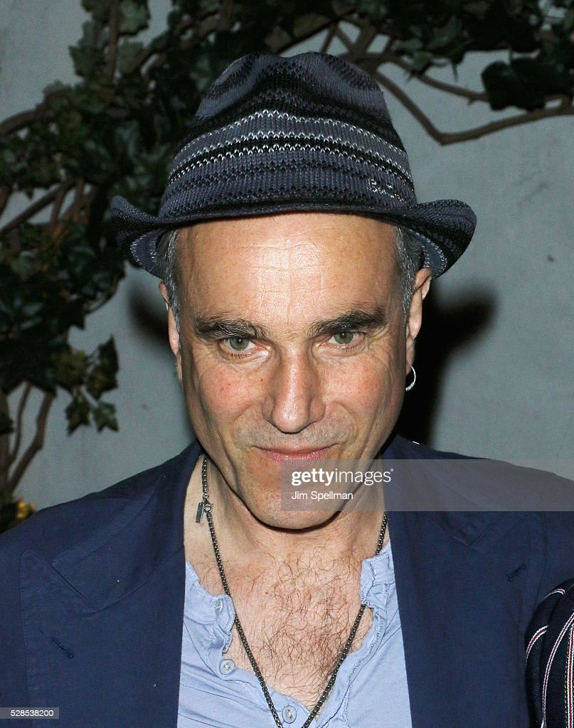 Actor <a gi-track='captionPersonalityLinkClicked' href=/galleries/search?phrase=Daniel+Day-Lewis&family=editorial&specificpeople=211475 ng-click='$event.stopPropagation()'>Daniel Day-Lewis</a> attends the after party for the screening of Sony Pictures Classics' 'Maggie's Plan' hosted by Montblanc and The Cinema Society with Mastro Dobel & Kim Crawford Wines at Laduree Soho on May 5, 2016 in New York City.