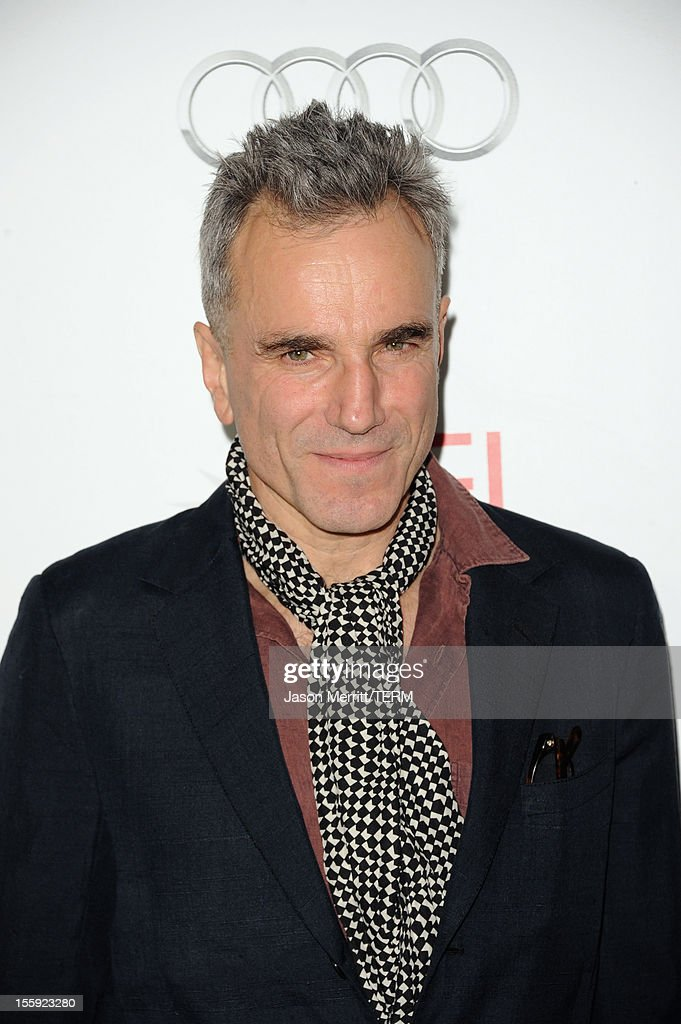 Actor Daniel Day-Lewis Getty Images North America arrives at the 'Lincoln' premiere during AFI Fest 2012 presented by Audi at Grauman's Chinese Theatre on November 8, 2012 in Hollywood, California.